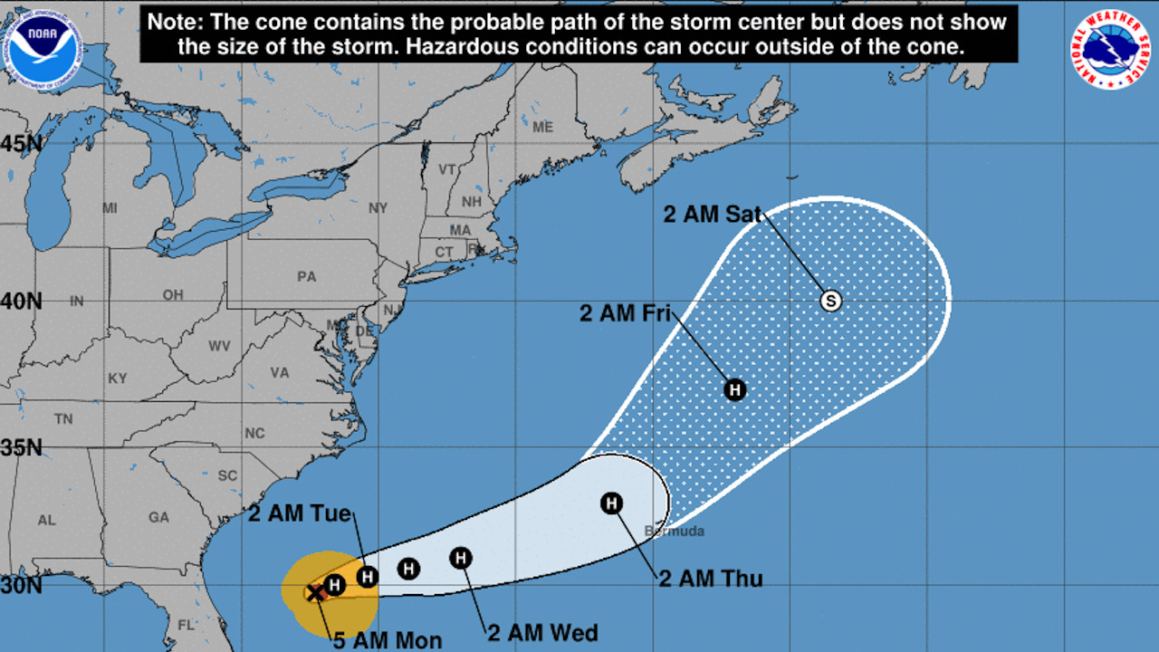 Hurricane Humberto on track to miss the Carolinas. But another system could be forming