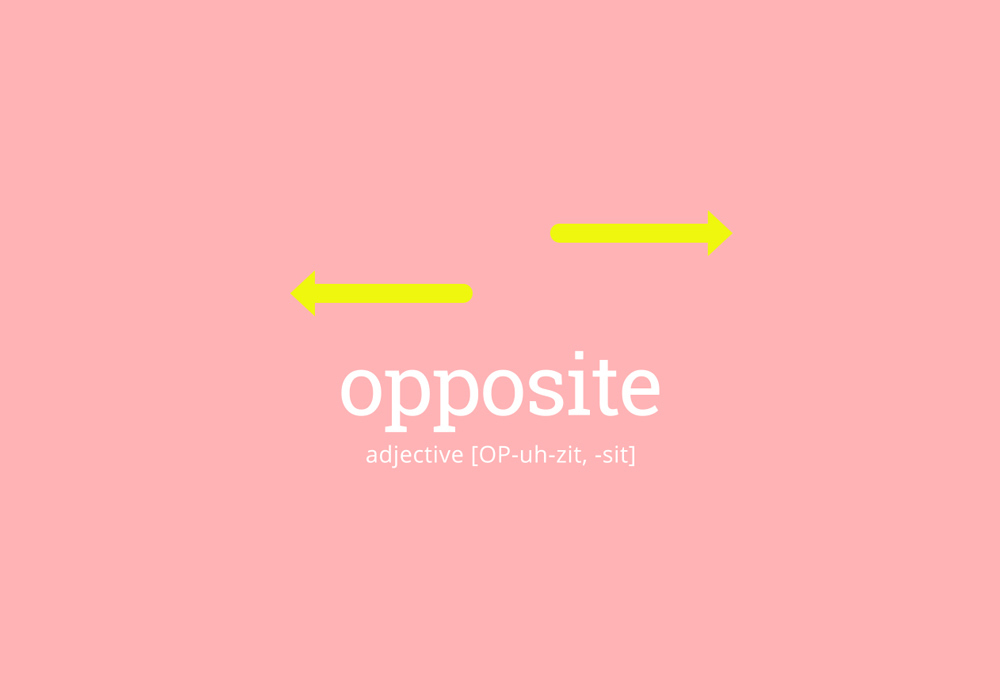Opposite Definition Of Opposite At Dictionary Com