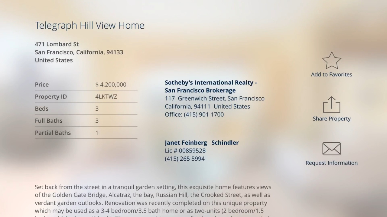 Apple TV Luxury Real Estate - Sotheby's International Realty
