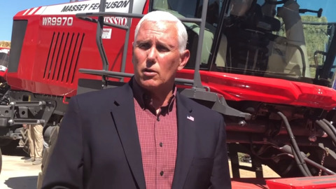 Vice President Mike Pence talks about the USMCA agreement