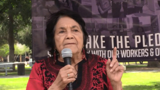 Dolores Huerta May Day Fresno 2018