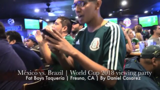 Mexico World Cup fans rally in Fresno