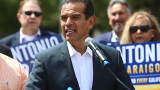 Candidate for California governor Antonio Villaraigosa visits Fresno