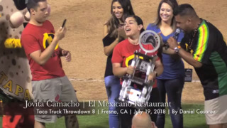 Two-time winner at Taco Truck Throwdown 8 at Chukchansi Park in Fresno