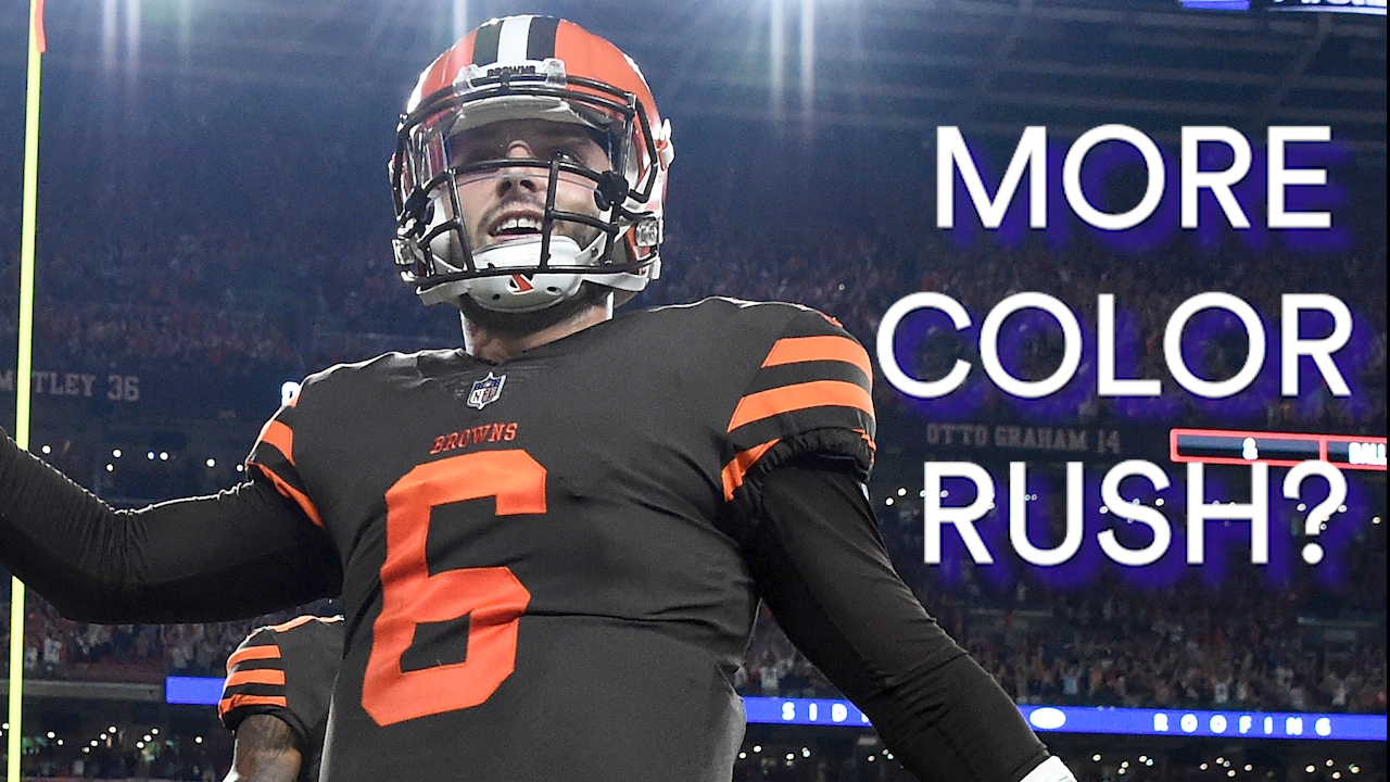 competitive price ad326 b86fb Cleveland Browns Hope To Wear NFL 'Color Rush' Jerseys More This Season
