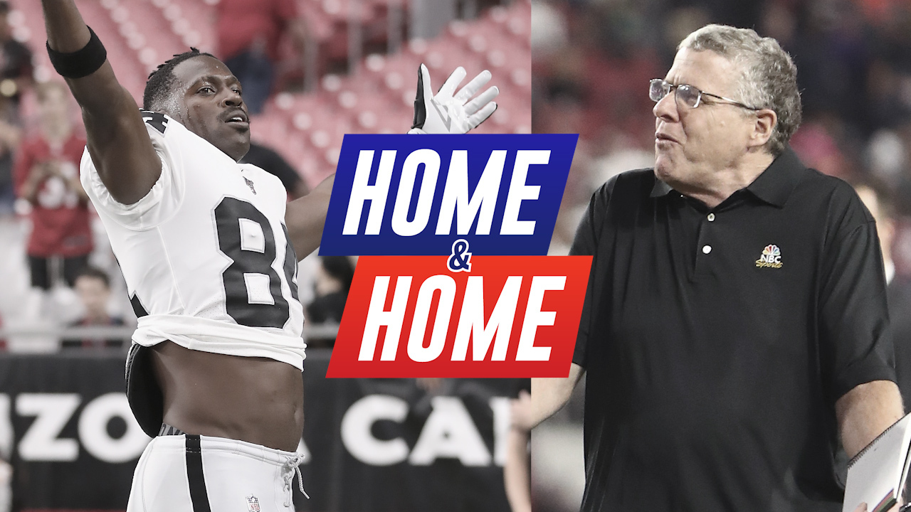 Peter King: Why Antonio Brown Could Be One and Done with Raiders | Home &  Home