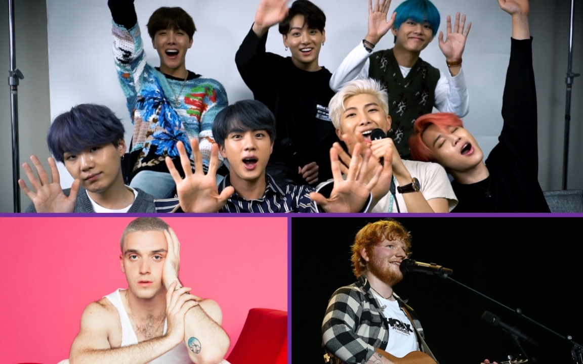 Bts On Making Make It Right With Ed Sheeran And Lauv