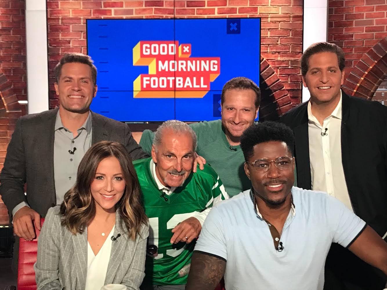 Joe And Evan Appear On 'Good Morning Football'