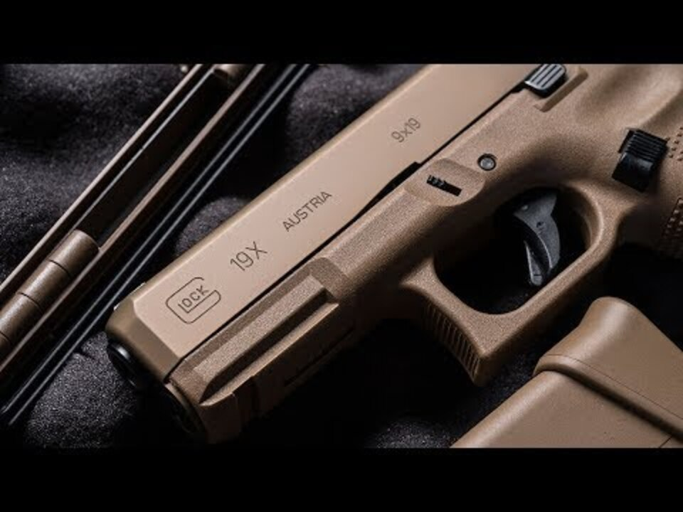 Glock 19X: New Pistol Combines Full-Size G17 Frame, Shorter G19 Slide