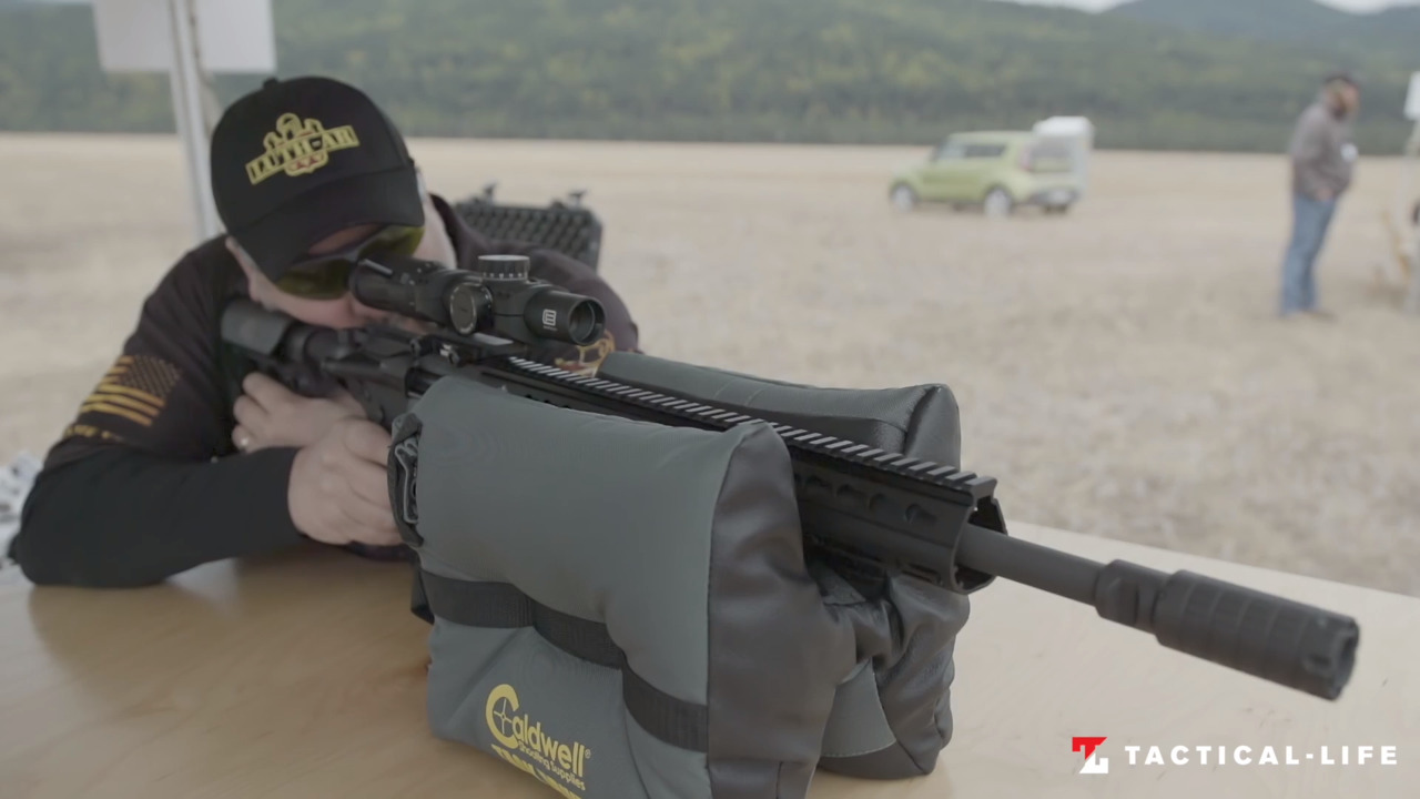 WATCH: Testing the LUTH AR Mark12 Complete Upper Barrel Assembly