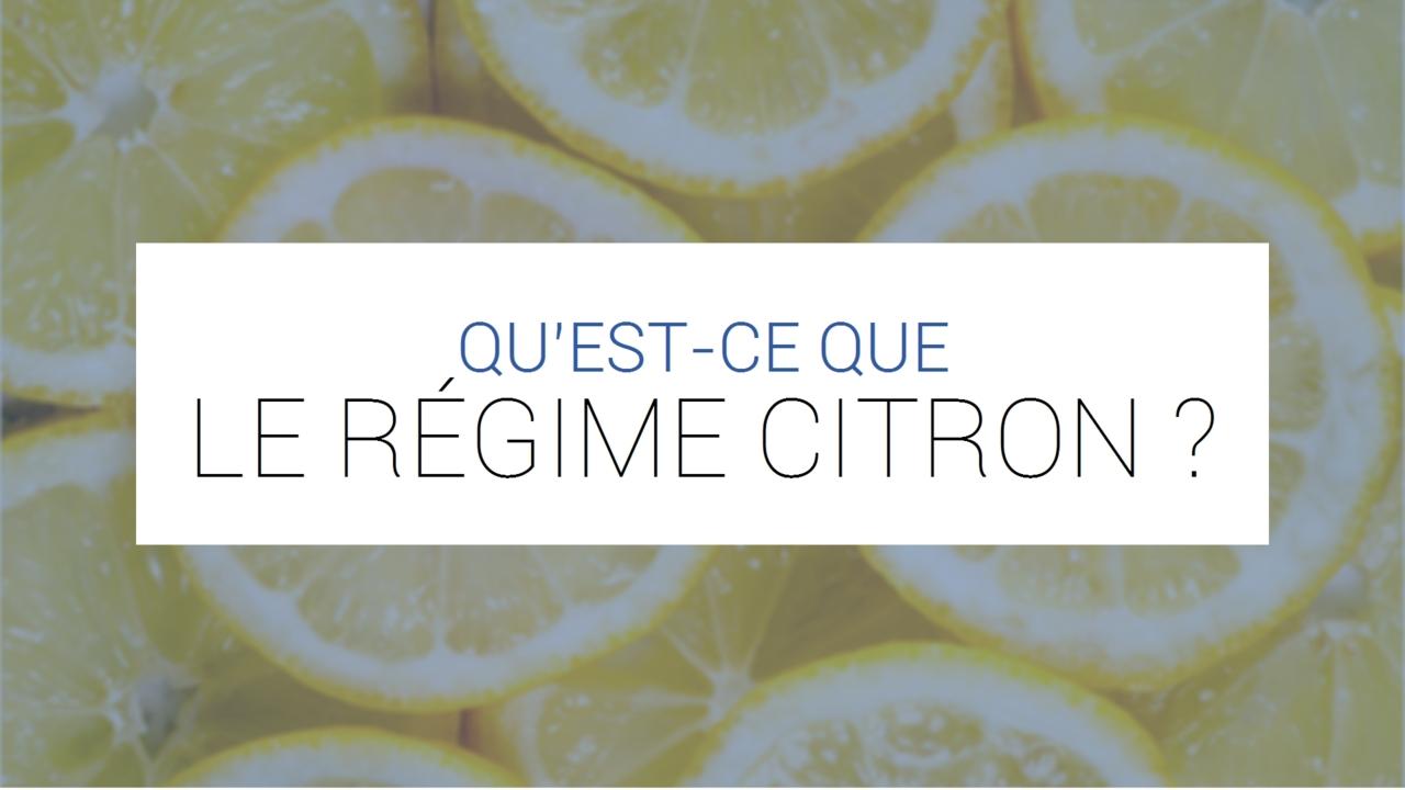Regime Citron Tout Sur La Detox Citron Maigrir Avec Du Citron