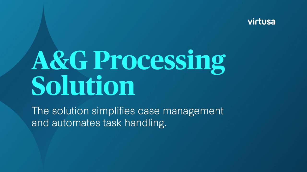 Appeals & Grievances Processing Solution