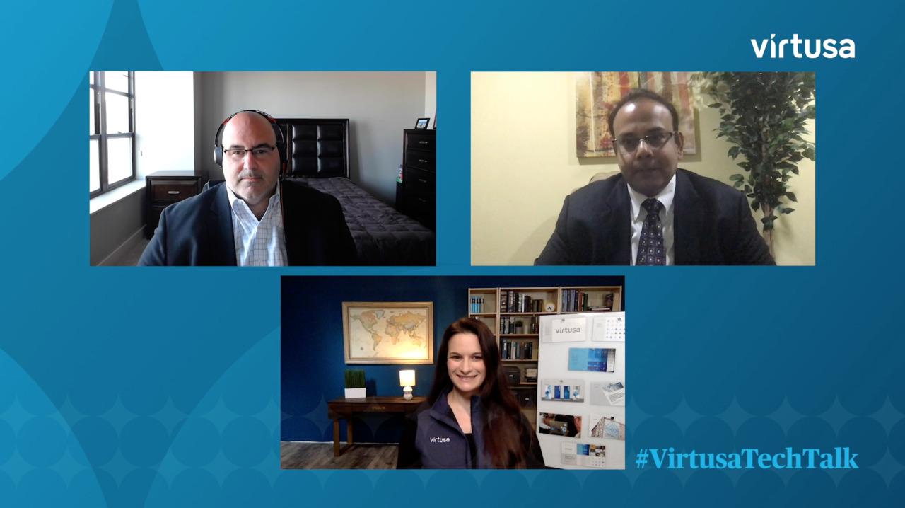 Virtusa Tech Talk | Gesundheitswesen: Technologie-Transformation in der Gesundheitsbranche
