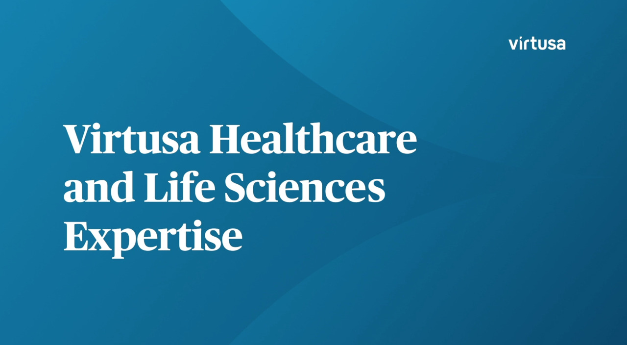Virtusa Healthcare and Life Sciences Expertise
