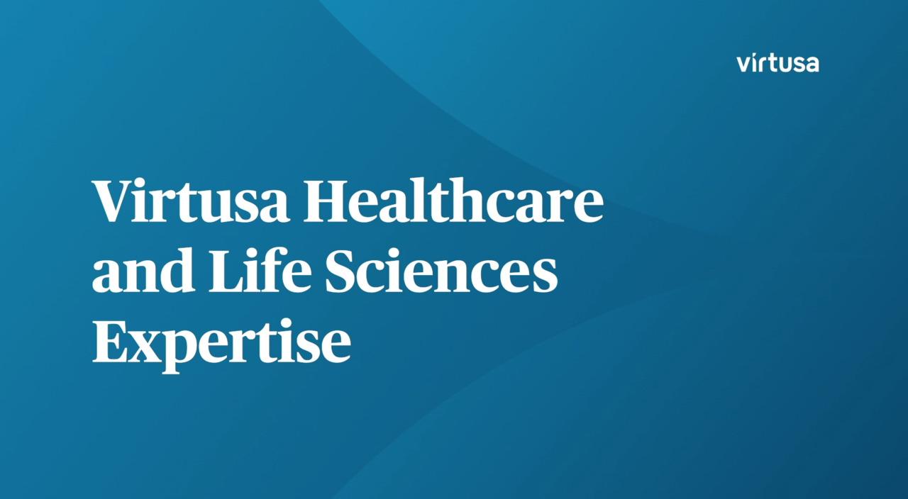 Virtusa Kompetenz im Gesundheitswesen und den Life Sciences