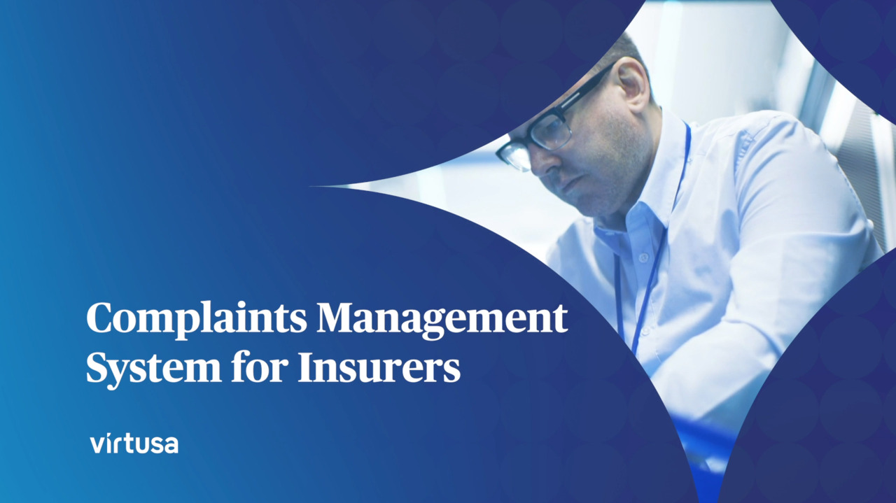 Complaints Management System for Insurers