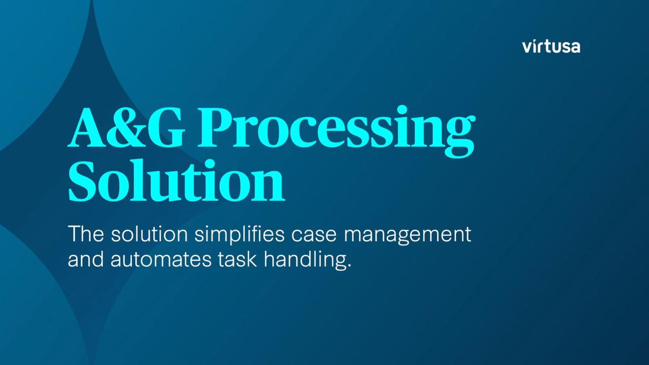 Appeals & Grievances Processing Solution