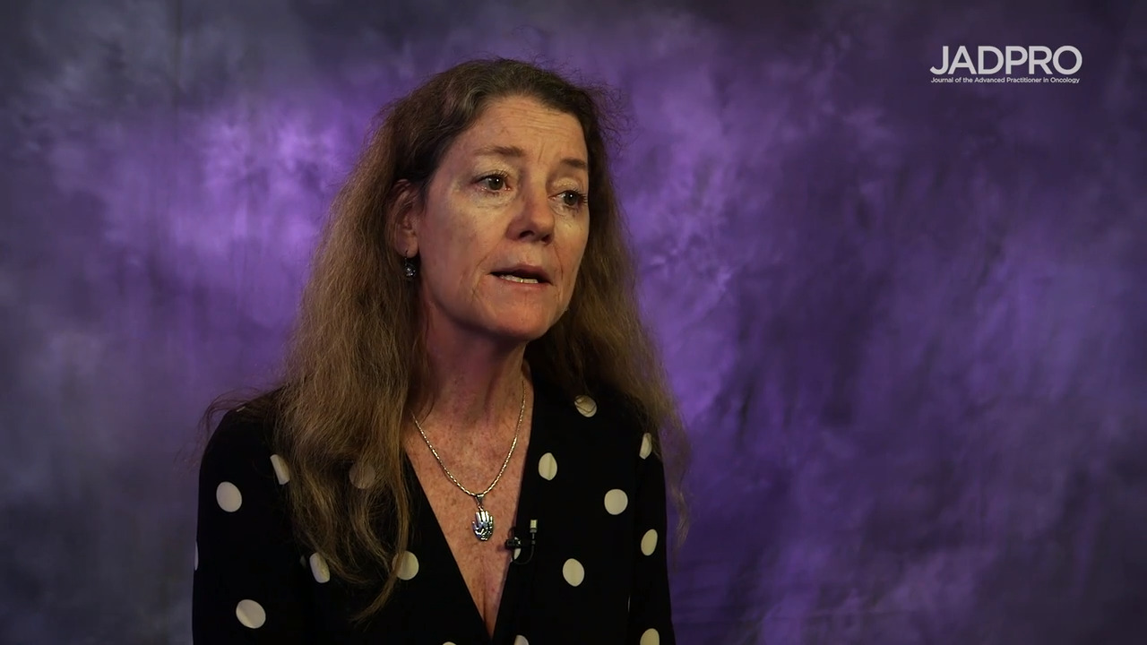 Sandra E. Kurtin, PhD, ANP-C, AOCN, on AML in First Remission: QUAZAR Trial of Oral Azacitidine
