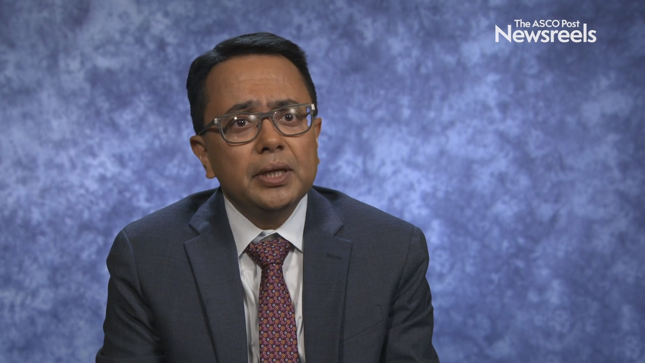 Neeraj Agarwal, MD, on Castration-Resistant Prostate Cancer: Results From the COSMIC-021 Study of Cabozantinib and Atezolizumab