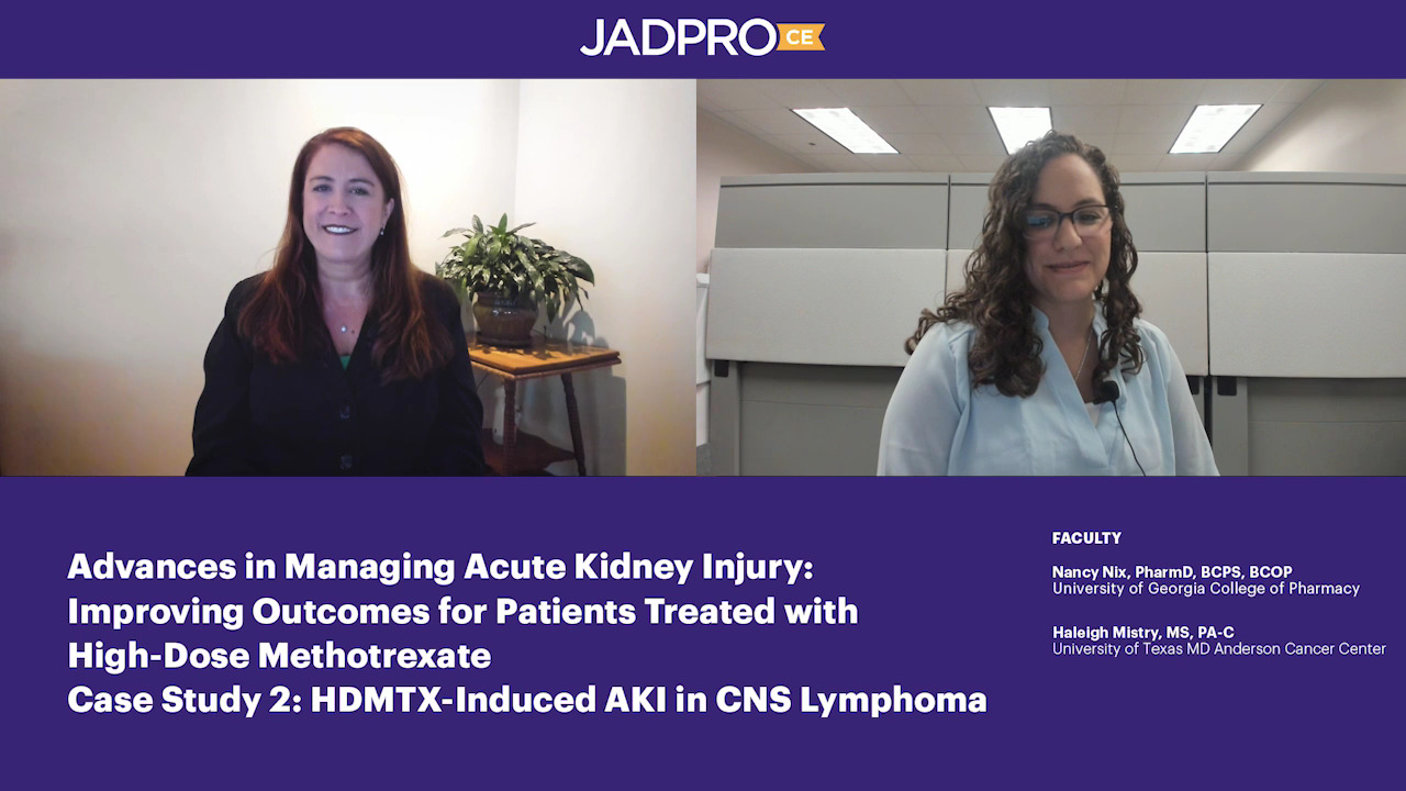 Case Study 2: HDMTX-Induced AKI in CNS Lymphoma