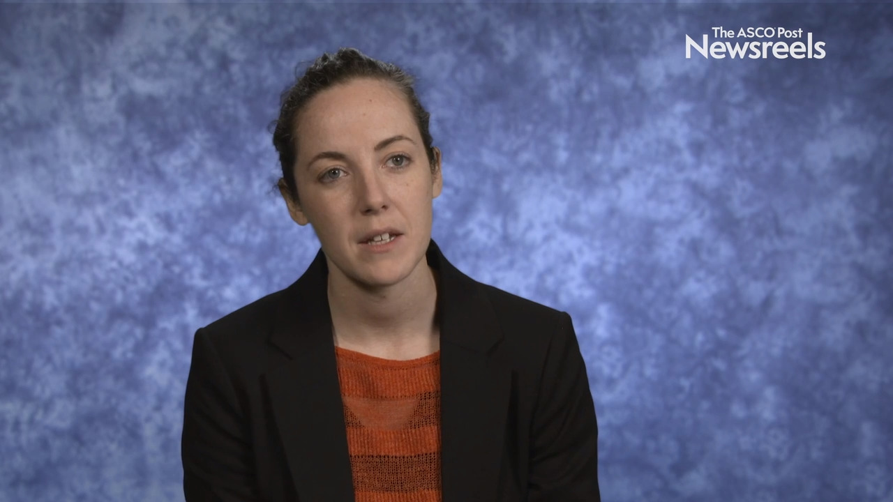 Hannah L. Rush, MBChB, on Prostate Cancer: Comparing Quality of Life in Patients Receiving Docetaxel or Abiraterone