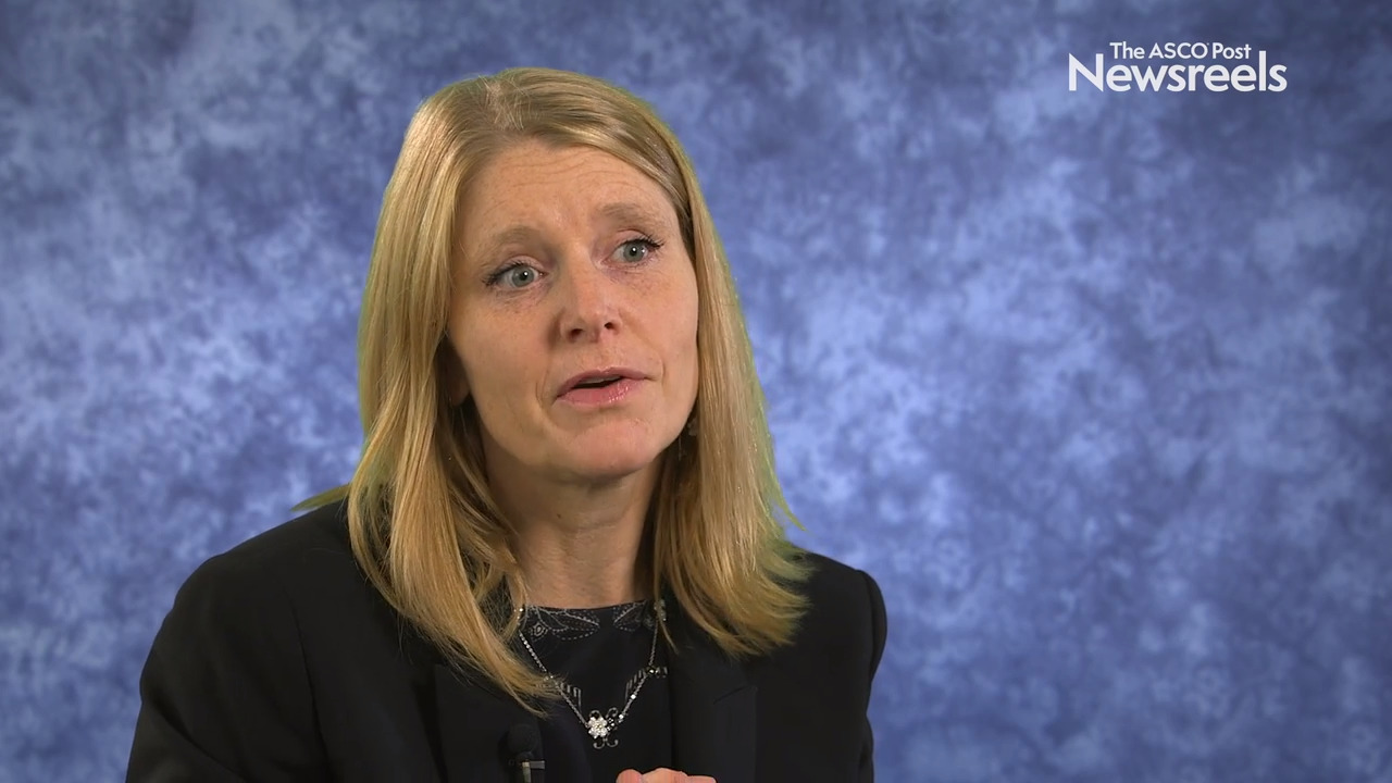 Solange Peters, MD, PhD, on NSCLC: CheckMate 227 Trial of Nivolumab/Ipilimumab vs Chemotherapy