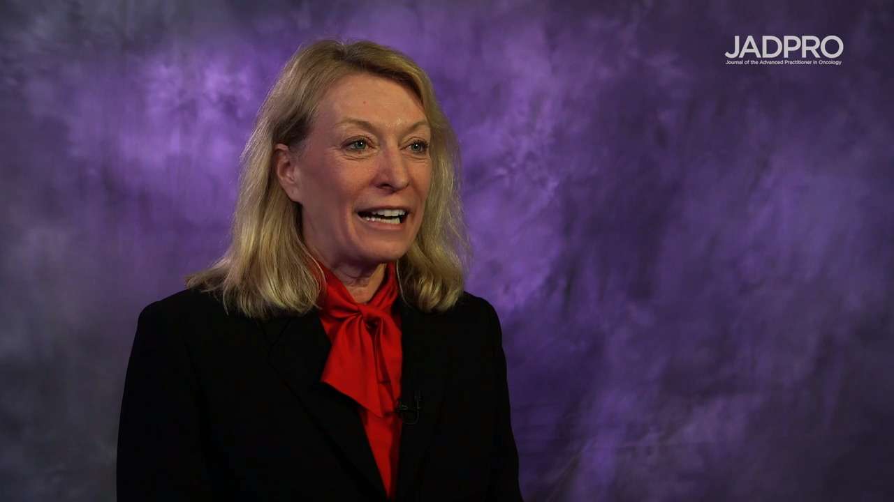 Sara Tinsley, PhD, APRN, AOCN, on MDS: Oral Rigosertib and Injectable Azacitidine