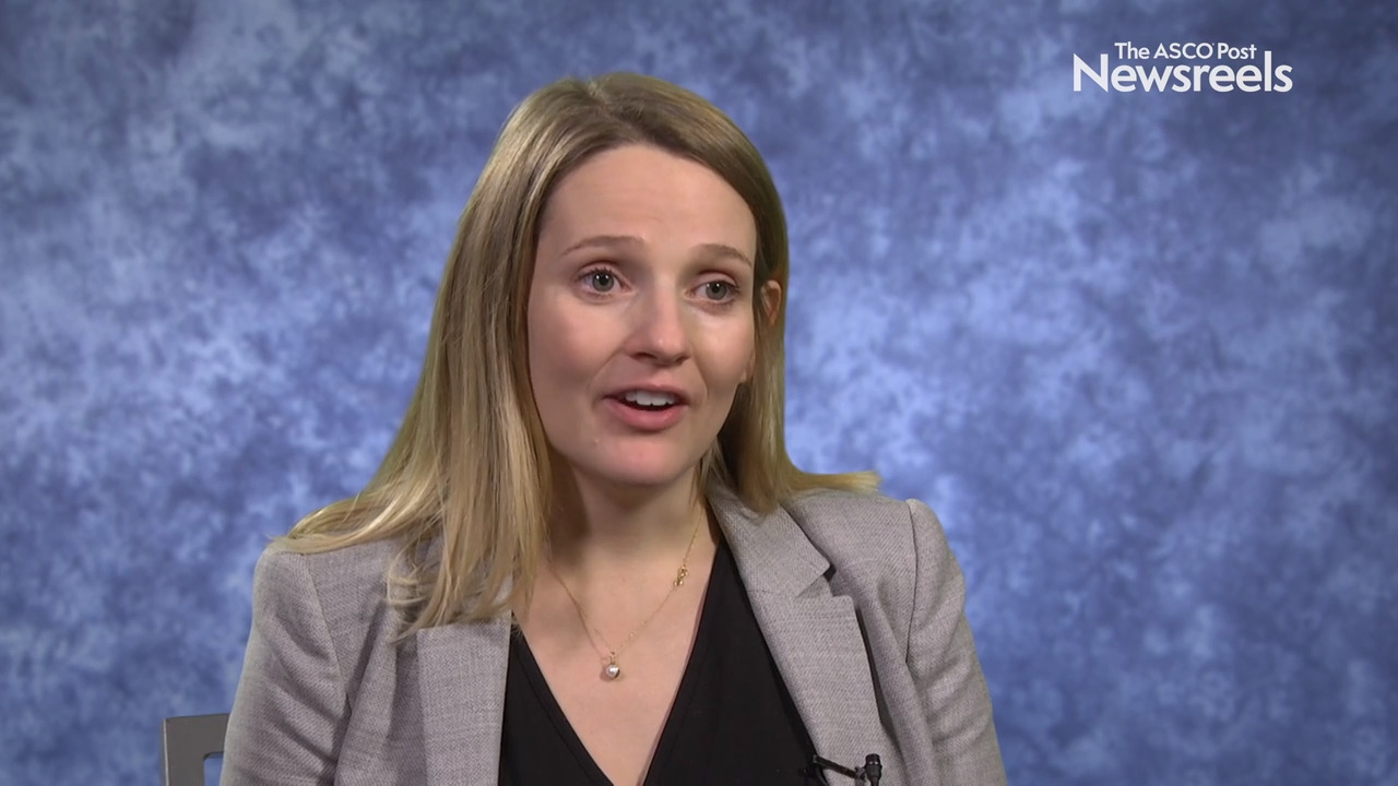 Belinda Kingston, MB ChB, on the Genomic Landscape of Breast Cancer Based on ctDNA Analysis