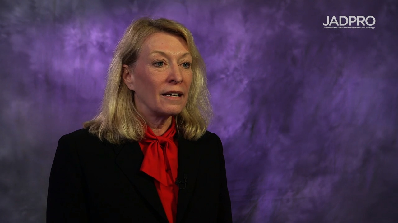 Sara Tinsley, PhD, APRN, AOCN, on MDS: MEDALIST Trial of Luspatercept to Treat Anemia
