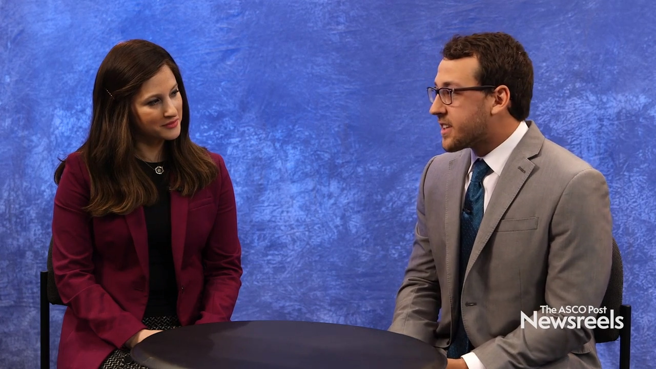 Miriam Knoll, MD, and Richard J. White, DO, on Non–Small Cell Lung Cancer: Predicting Radiotherapy/Immunotherapy Treatment Outcomes