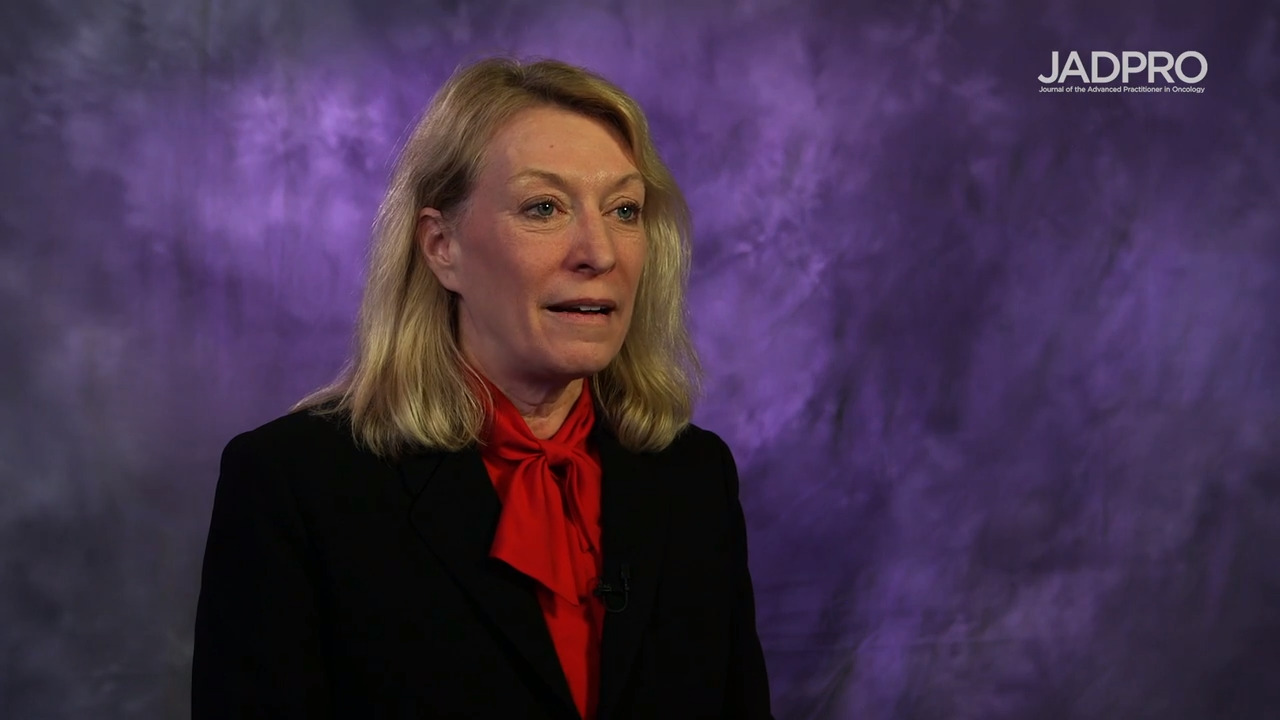 Sara Tinsley, PhD, APRN, AOCN, on CLL: Therapies After Venetoclax Discontinuation