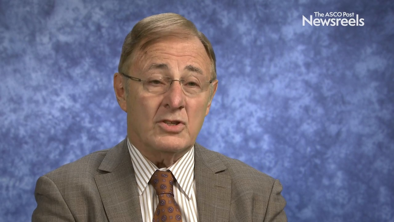 Richard I. Fisher, MD, on Follicular Lymphoma: Optimizing First-Line Therapy