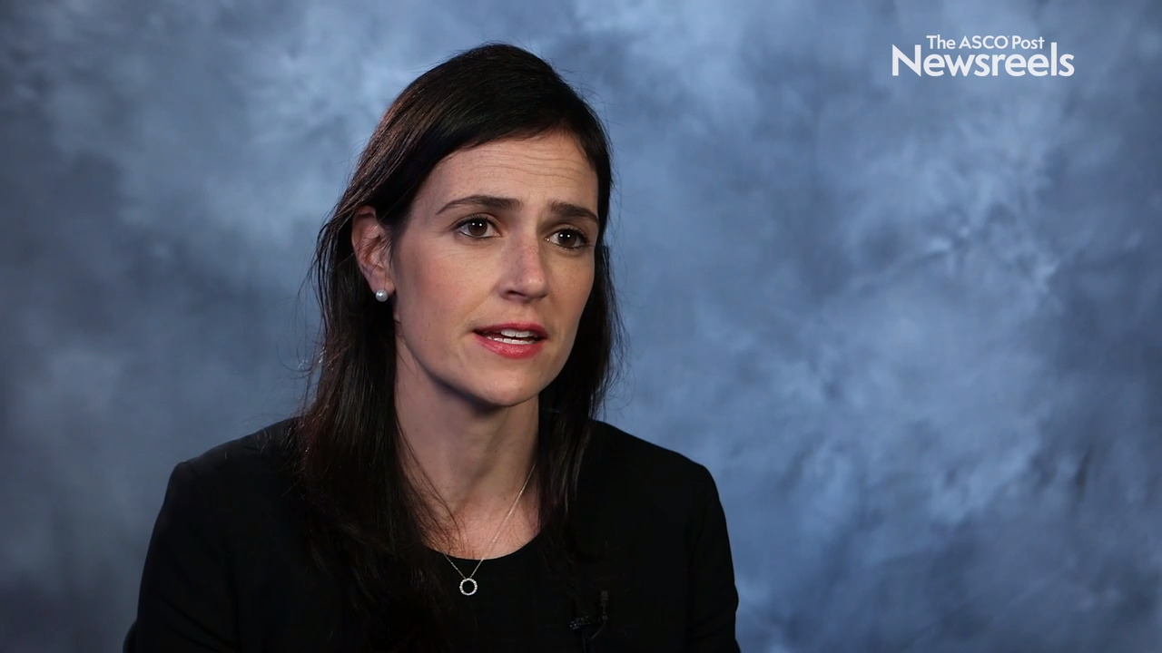 Jennifer Crombie, MD, on Relapsed or Refractory CLL/SLL: Results From a Phase I Trial of Duvelisib and Venetoclax