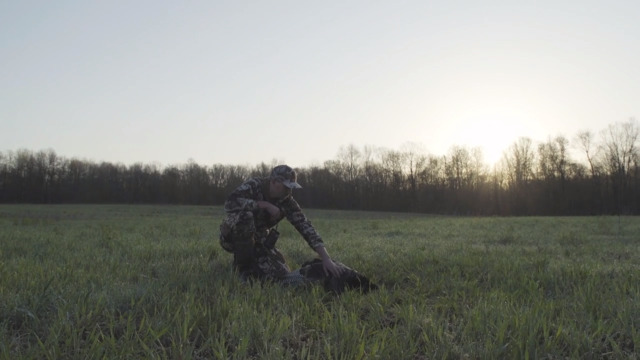 Michigan turkey hunting with Mark Kenyon.