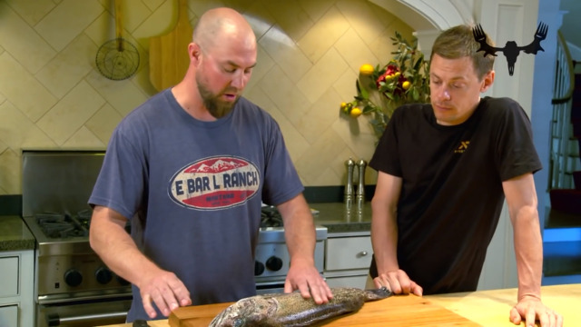 MeatEater's How To Fillet A Lingcod With Steven Rinella and Andrew Radzialowski