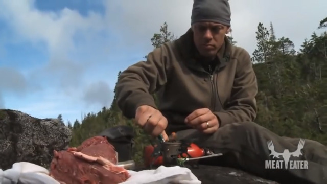 How to Cook Venison Loin in the Field