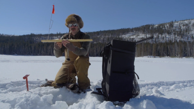 How to Set an Ice Fishing Tip-Up