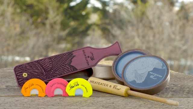 A New Lineup of Turkey Calls   MeatEater x Phelps