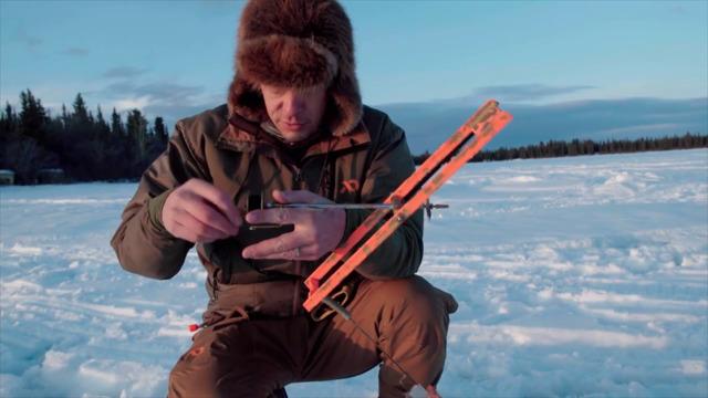 Using Tip Ups for Burbot in Central Alaska