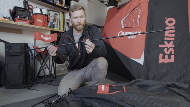 How to Repair a Broken Ice Fishing Shelter Pole