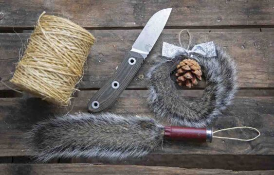 Make Squirrel Tail Christmas Ornaments with Clay Newcomb