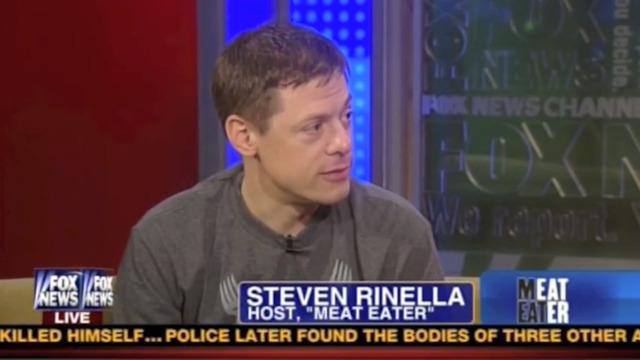 Steven Rinella on Fox and Friends Weekend, Jan 6, 2013