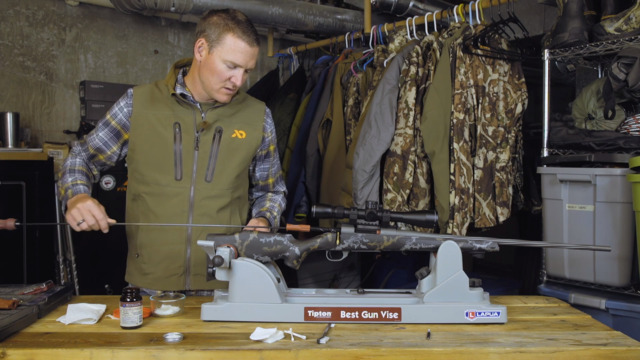 How to Clean a Rifle Barrel with Janis Putelis