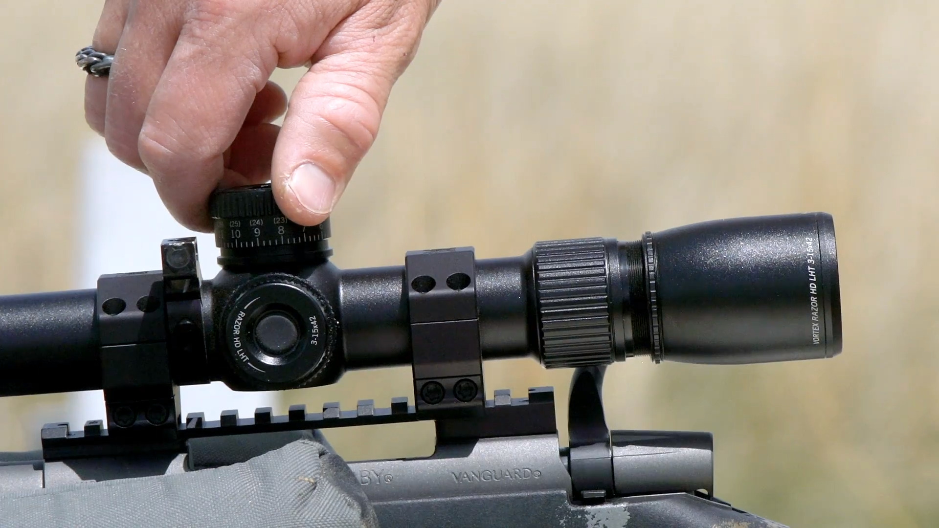 How to Sight In a Rifle with Janis Putelis