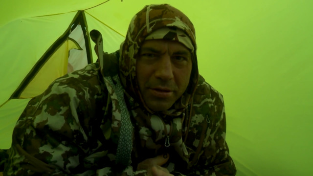 Steven Rinella, Janis Putelis, Joe Rogan, & Bryan Callen Ride Out the Storm