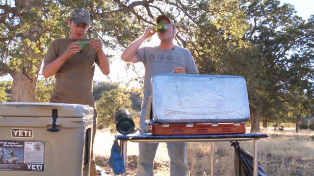 Hank Shaw and Steven Rinella Cook Up a Sardianian Hare Stew