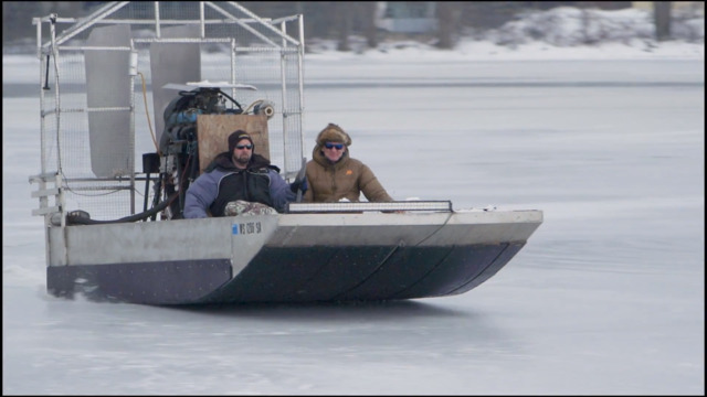 S1-E07: Ice Fishing in Downtown Green Bay & Homemade Airboat Ride
