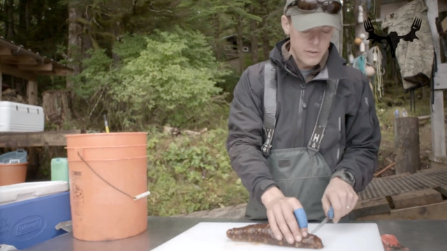 How To Clean A Sea Cucumber With Steven Rinella