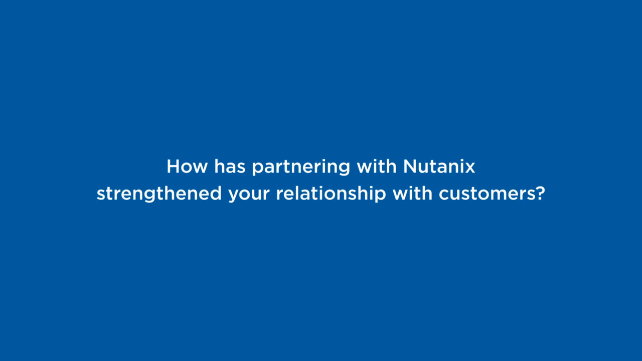 Partner Network Nutanix Empowers You to pete in Multi