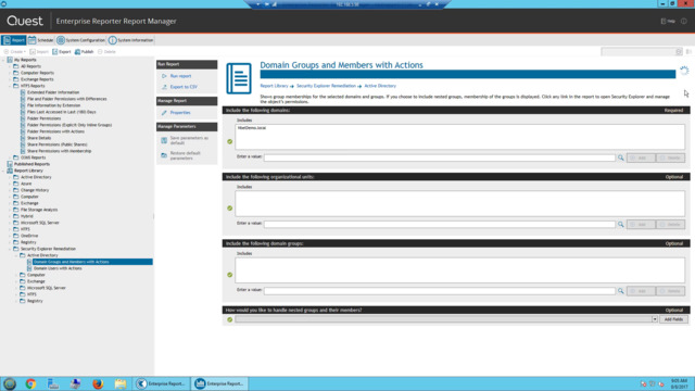 Security Auditing, Reporting and Compliance Software